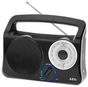 AEG TR 4131 Transistorradio schwarz/silber