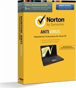 Symantec Norton Antivirus 2014 5 User     ,