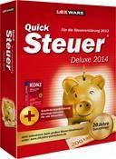 Lexware QuickSteuer Deluxe 2014 Version 20.00 (für Steuerjahr 2013)