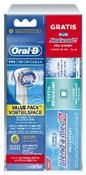 Oral-B Precision Clean 6er + Zahncreme