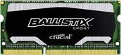 Crucial Ballistix 4GB DDR3 SO-Dimm 1600MHz
