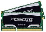 Crucial Ballistix 8GB DDR3 Kit (2x4GB) SO-Dimm, 1600MHz