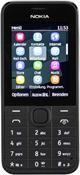 Nokia 208, Barren Handy  in schwarz  mit 256 MB Speicher