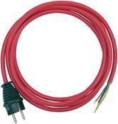brennenstuhl 1160450 Anschlussleitung 3m rot