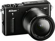 Nikon 1 AW1 Kit 11-27.5mm + 10mm schwarz