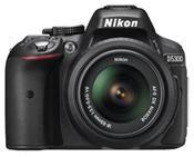 Nikon D5300 AF-S DX 18-55 VR Kit schwarz