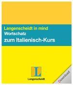 Langenscheidt in mind - Wortschatz zum Italienisch-Kurs Win DE