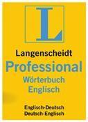 Langenscheidt Professional-Wörterbuch Englisch Mac DE