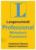 Langenscheidt Professional-Wörterbuch Französisch Mac DE