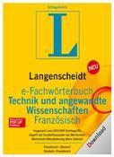 e-Fachwörterbuch 4.0 Technik & angew. Wissenschaften Französisch Win DE
