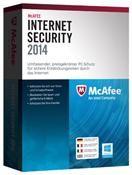McAfee Internet Security 2014 3 User 12 Monate Win DE