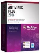 McAfee AntiVirus Plus 2014 3 User 12 Monate Win DE