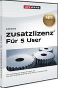 Lexware Zusatzlizenz 2014 für 5 User Version 14.00 Win DE