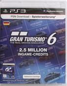 PlayStation Network Card (20 Euro) Gran Turismo 6 Livecard PS3 und PSP
