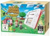 Nintendo 2DS (weiß+rot) inklusive Animal Crossing 3DS Limited Edition