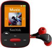 SanDisk Sansa Clip Sport 4GB rot