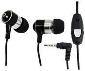 LogiLink Stereo In-Ear Headset mit Fernbedienung schwarz