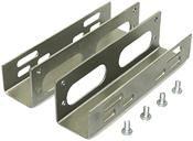 LogiLink Einbauwinkel/Einbaurahmen 2-er Set 3,5 -> 5,25 intern für Festplatten
