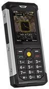 Caterpillar CAT B100 proprietärem Betriebssystem, Barren Handy  in schwarz/silber  mit 64 MB Speicher