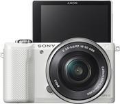 Sony Alpha 5000 Kit 18-55mm weiß