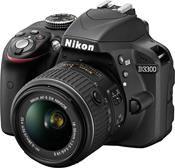 Nikon D3300 Kit AF-S DX 18-55 VR II schwarz