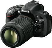 Nikon D5200 Kit AF-S DX 18-55 VR II + 55-200 VR schwarz