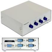 DeLOCK Switch 4-port RS-232 manuell