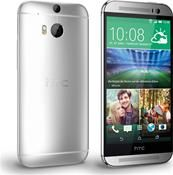 HTC One M8 Android™, Smartphone  in silber  mit 16 GB Speicher