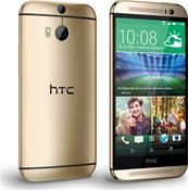 HTC One M8 Android™, Smartphone  in gold  mit 16 GB Speicher