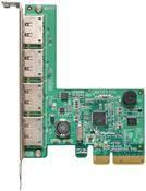 Highpoint Rocket RAID 644L SATA Adapter 4x eSATA, RAID 0/1/5/10/JBOD, PCIe2.0 4x