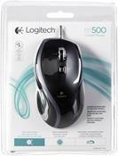 Logitech M500 wired Mouse schwarz