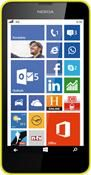 Nokia Lumia 630 Dual SIM Windows Phone, Smartphone  in gelb  mit 8 GB Speicher