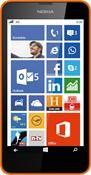 Nokia Lumia 630 Dual SIM Windows Phone, Smartphone  in orange  mit 8 GB Speicher