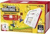 Nintendo 2DS (weiß+rot) inkl. New Super Mario Bros. 2 (Sonder Edition)