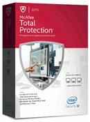McAfee Total Protection 2015 3 User/PC Upgrade  (Code in a Box)