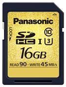 Panasonic Gold Pro SDHC UHS-I U3 16GB