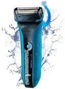Braun Waterflex-WF2 Wet & Dry blau