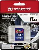 Transcend SDHC UHS-I 300x 8GB