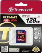 Transcend SDXC UHS-I 600x 128GB