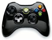 Microsoft Xbox 360 Wireless Controller Chrome Schwarz Limited Edition (X360)