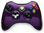 Microsoft Xbox 360 Wireless Controller Chrome Lila Limited Edition (X360)