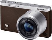 Samsung NX mini Kit braun + 3,5-5,6/9-27 ED OIS