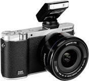 Samsung NX3000 Kit schwarz + 16-50 PZ + SEF-8A