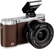 Samsung NX3000 Kit braun + 16-50 PZ + SEF-8A