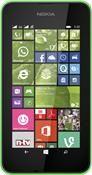 Nokia Lumia 530 Dual Sim Windows Phone, Smartphone  in grün  mit 4 GB Speicher
