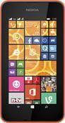 Nokia Lumia 530 Dual Sim Windows Phone, Smartphone  in orange  mit 4 GB Speicher