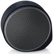 Logitech X100 Mobile Speaker Bluetooth grau / schwarz