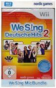 We Sing Deutsche Hits 2 (inklusive 2 Mikrofone) (WII WIIU) DE-Version