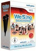 We Sing Deutsche Hits (inkl. 2 Mikrofonen) (WII) DE-Version