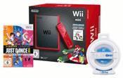 Nintendo Wii Mini Grundgerät inkl Mario Kart+ Lenkrad + Just Dance 14 (WII) DE-Version